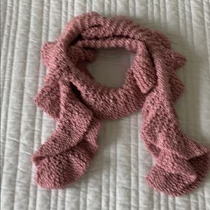 Rose Knit Scarf